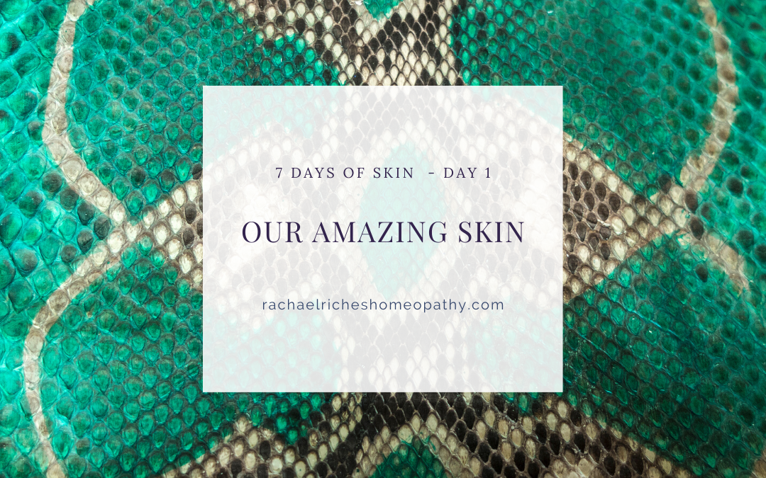 Our skin is AMAZING!!!